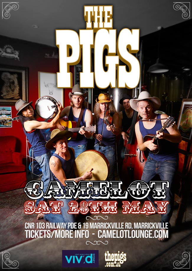 The Pigs at Camelot